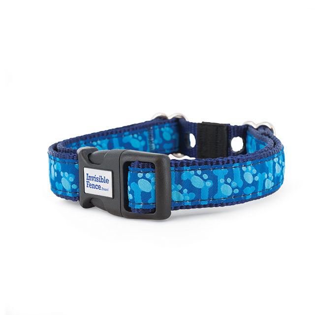 Invisible Fence® Brand Paws on Navy Collar